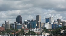 North Sydney Skyline by thievingjoker, licensed Creative Commons