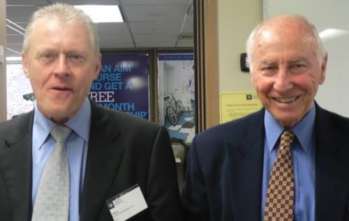 Bill Tobin and John Court