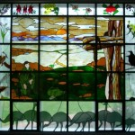 Stain glass window at the Soldiers Chapel at Kapooka